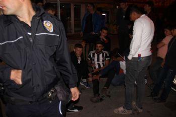 Kayseri'deki kutlamalarda kan aktı