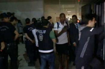 Şampiyon Beşiktaş stattan ayrıldı