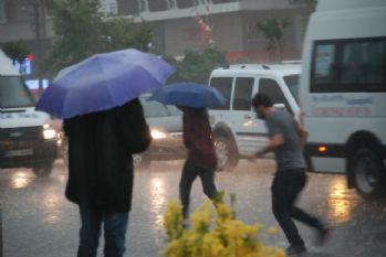 Beklenen yağmur İstanbul sınırında