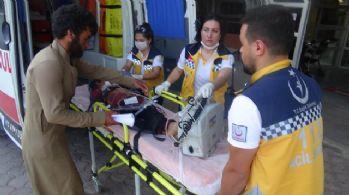 El Bab'da el yapımı patlayıcı infilak etti: 2 yaralı
