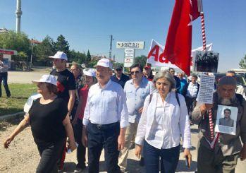 'Adalet Yürüyüşü' 3. gününde devam ediyor