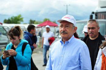 CHP'nin yürüyüşü 5. gününde