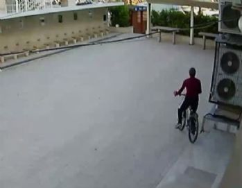 İmamın bisikleti böyle çalındı