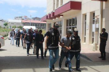 Muş'ta suç örgütü operasyonu: 15 gözaltı