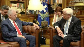 Yıldırım Yunan Cumhurbaşkanı ile görüştü