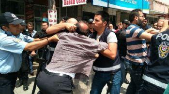 Samsun'da olaylı yıkım: 3 gözaltı