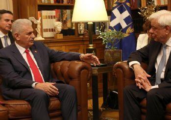 Yıldırım, Yunanistan'da: AB, Türkiye ile nasıl bir yol yürüyeceğine karar vermeli