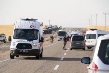 Polis midibüsü ile minibüs çarpıştı: 2 ölü, 4'ü polis 18 yaralı