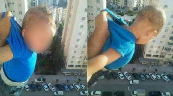 Bebeğini camdan sallayan babaya 2 yıl hapis