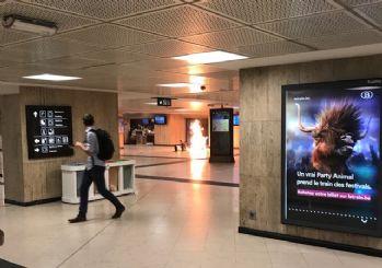 Brüksel'de canlı bomba yeleği giyen bir kişi etkisiz hale getirildi