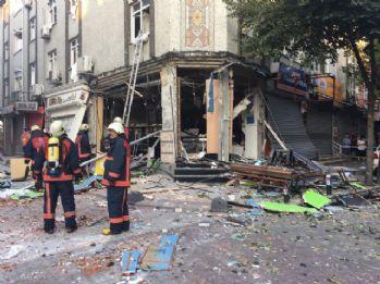 Bakırköy'de iş yerinde patlama