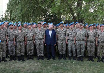 Başbakan'dan komando timine ziyaret: Savunma değil taarruz!