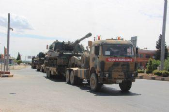 TSK YPG kontrolündeki Afrin'i bombaladı