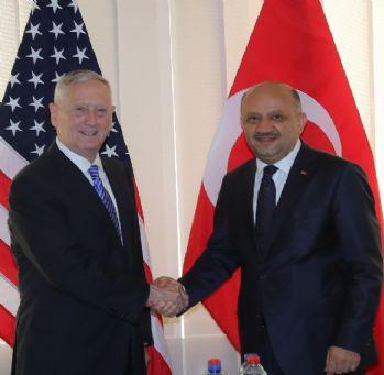 Bakanı Işık, ABD'li mevkidaşı Mattis ile görüştü