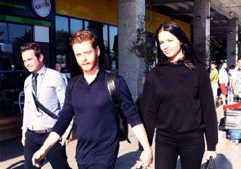 Adriana Lima ile Türk yazar öpüşürken yakalandı!