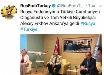 Suikasta uğrayan Karlov'un yerine atanan Başkonsolos Ankara'da
