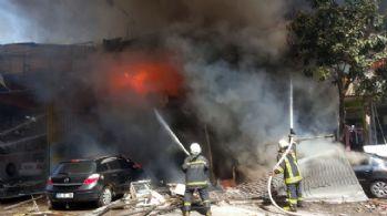 Dondurma imalathanesinde patlama: 11 yaralı