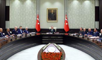Milli Güvenlik Kurulu OHAL gündemiyle toplandı