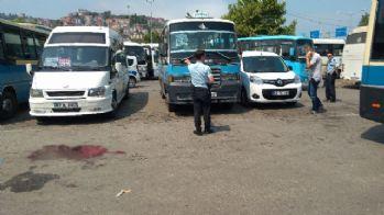 Zonguldak'ta dolmuşçular birbirine girdi: 3 yaralı