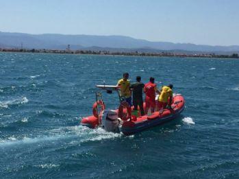 Denizde kaybolan şahıs 30 mil sürüklendi