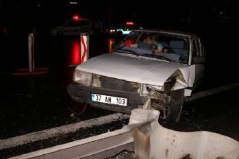 15 Temmuz Şehitler Köprüsü'nde trafik kazası: 2 yaralı
