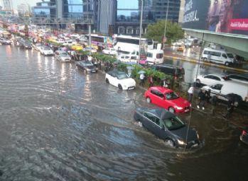 İstanbul'da metrekareye 65 kilogram yağış düştü