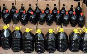 Kırklareli'de 264 litre kaçak şarap ele geçirildi