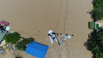 Silivri'ye metrekareye 118 kg yağış düştü