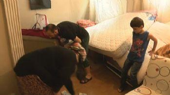 Su baskını Şimşek ailesini perişan etti