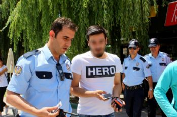 Erzurum'da bir 'Hero' daha yakalandı