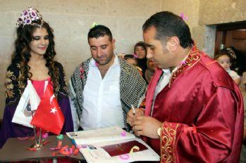 105 yıllık tarihi konakta nikah
