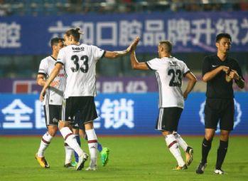 Beşiktaş, Schalke 04'e 3-2 mağlup oldu