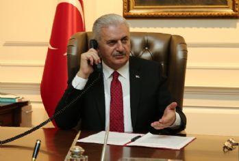 Başbakan Yıldırım, Irak Başbakanı Ebadi'yle görüştü