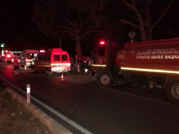 Balıkesir'de kaza: 2 ölü, 1 yaralı
