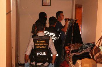 İstanbul'da helikopter destekli 'torbacı' operasyonu