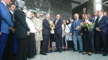Gençlik ve Spor Bakanlığında devir teslim töreni