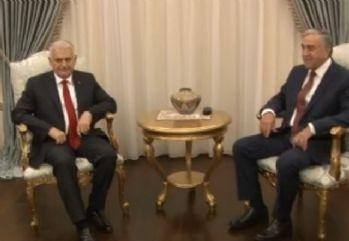 Başbakan Yıldırım, KKTC Cumhurbaşkanı Akıncı