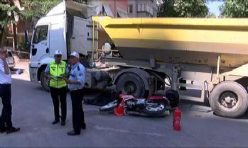 Yine hafriyat kamyonu: 1 ölü