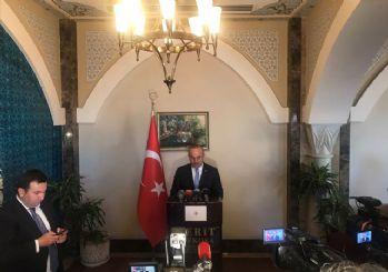 Bakan Çavuşoğlu'dan Almanya'ya sert tepki
