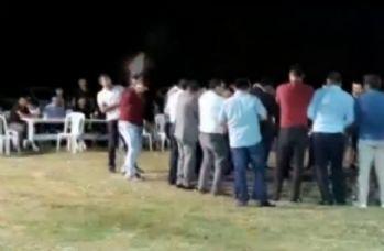 Ankara'da tehlikeli düğün eğlencesi