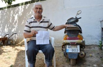10 kullanmadığı motosiklete 'HGS' cezası