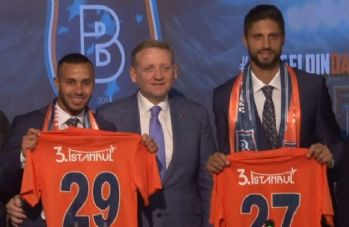 Başakşehir'de Kerim Frei ve Da Costa imzaladı