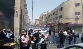 İsrail güvenlik güçlerinden plastik mermili saldırı: 14 yaralı