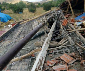Beton mikserinin pompası kırıldı: 1 ölü, 3 yaralı