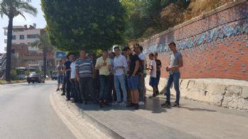 Antalya'da otobüs beklemek...