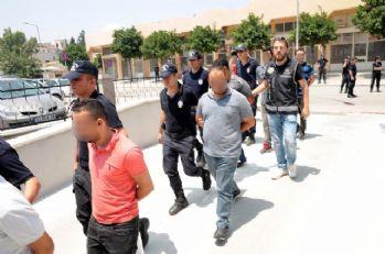 Mersin'de haraç operasyonu: 11 gözaltı