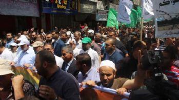 Gazze'de 'Öfke Günü' yürüyüşü