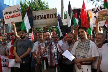 İsrail'e protestolar sürüyor