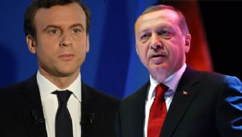 Erdoğan Macron'la Kudüs'ü görüştü