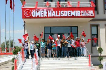 Şehit Halisdemir'in adı memleketindeki kültür merkezinde yaşayacak